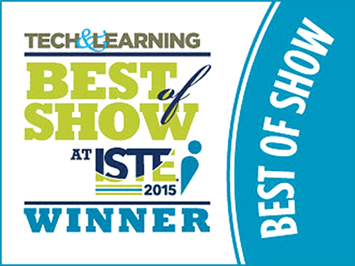 First In Math wins a 2015 BEST of SHOW award from Tech & Learning