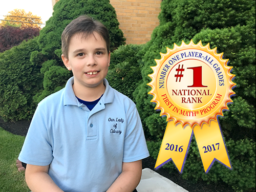 Daniel Wang, 2017 National Top Ten Champ, All Grades